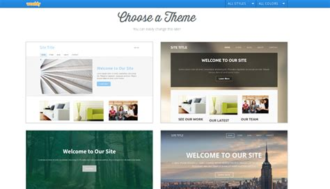 create website in weebly without template wix or weebly which one is the better website builder