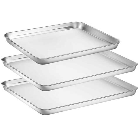baking steel stainless cookie pans sheets amazon chef hkj pieces sheet tray check