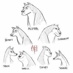 Wolf pack sketch concept by LuigiL | Concept Sketches ...