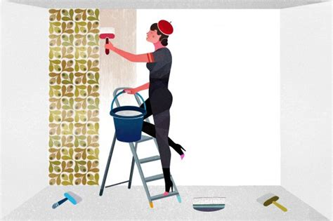 Tappezzeria Per Cer How To Decorate Furniture With Wallpaper Wallpapering