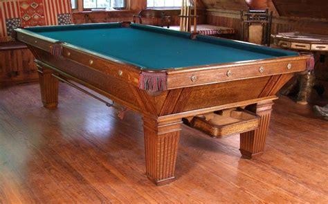 Antique Pool Tables Auctions - Florist Home and Design