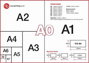 Guide To Common Brochure Paper Sizes  A4  A5  A3  Dl  210