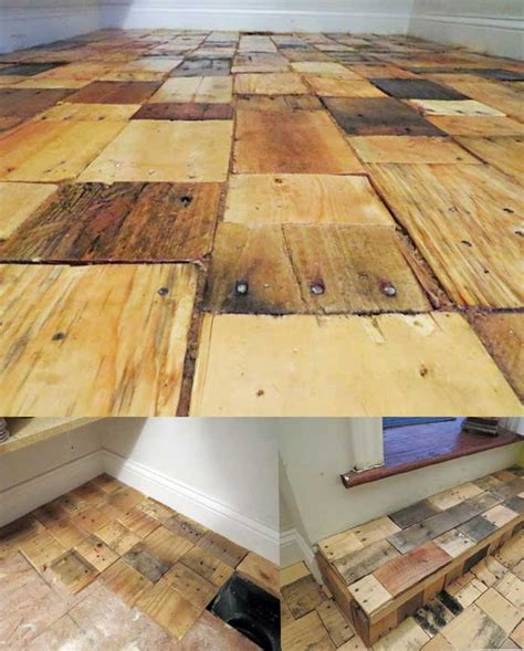 pallet wood for flooring easy to build wood pallet flooring at no cost diy design decor