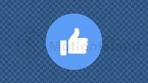 Animated Gif Designer Facebook Thumbs Up Animation Motionisland
