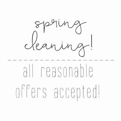 Cleaning Spring Poshmark