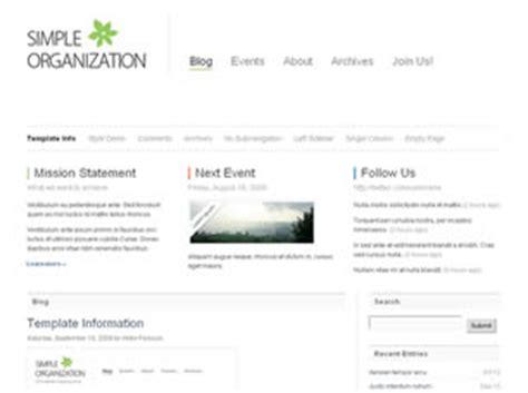 simple css templates simple organization free website template free css templates free css