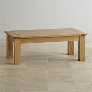 contemporary coffee table in solid oak oak furniture land With unfinished oak coffee table