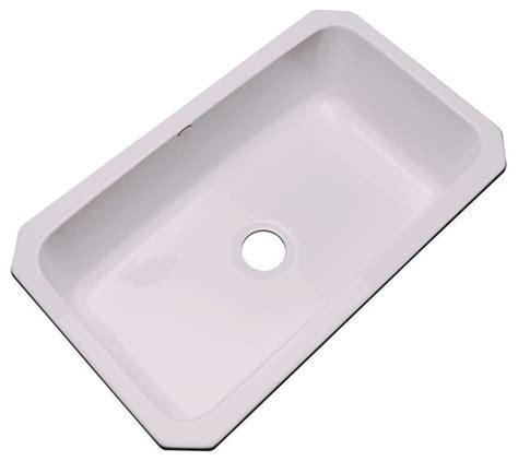 Acrylic Kitchen Sinks by Thermocast Kitchen Manhattan Undermount Acrylic 33x19 5x9