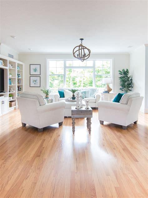coastal living room makeover  lilypad cottage
