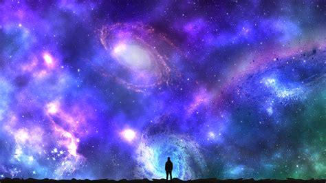 fondos de pantalla noche galaxia planeta nubes