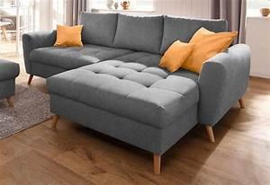 Couch Home Affaire : home affaire polsterecke jordsand mit feiner steppung ~ Lateststills.com Haus und Dekorationen
