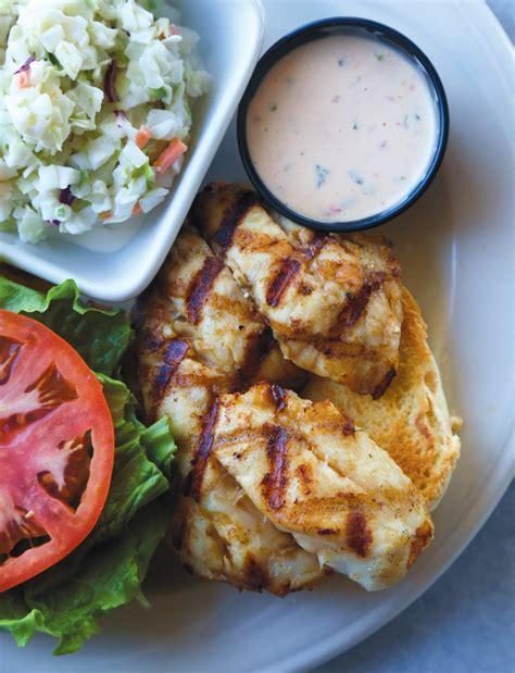 grouper sandwich dock grill dry edible eat