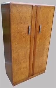Armoire Art Deco : armoire penderie art d co anglaise avec pratiques espaces de rangement ~ Melissatoandfro.com Idées de Décoration