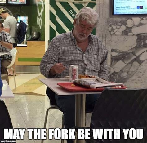 George Lucas Memes - lonely george lucas imgflip