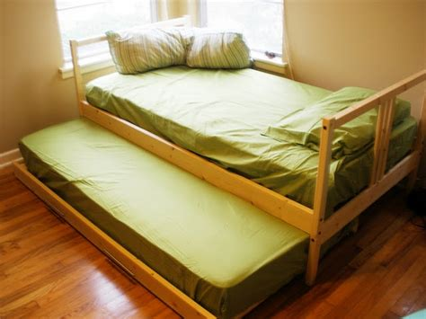 ikea hack trundle from twin beds multipurpose room