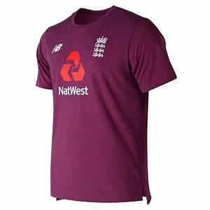 New Balance England Cricket Heather Tee