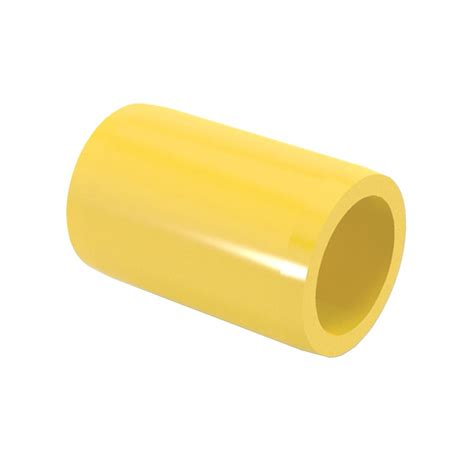 formufit 3 4 in furniture grade pvc external coupling in yellow 10 f034eco ye 10 the