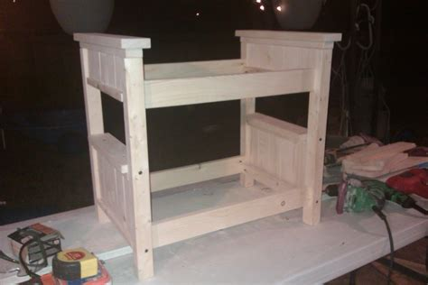 woodwork doll bunk bed plans  plans