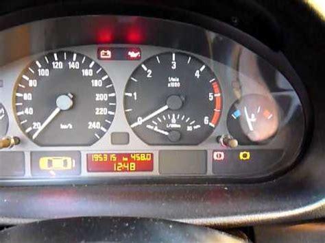 bmw  brake pads indicating light  reset youtube
