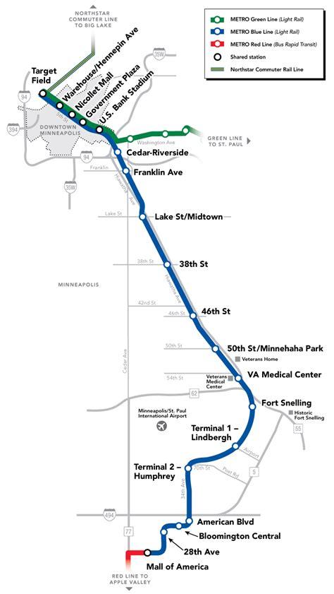 light rail mn green line metro blue line