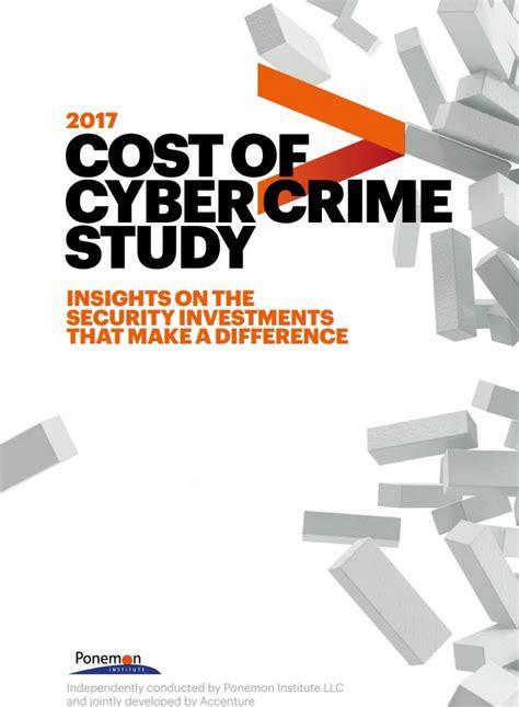 Cost Of Cyber Crime Study 2017  Cybersecurity Italia