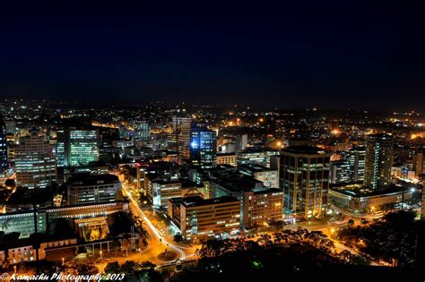 Beautiful Images Of African Cities At Night