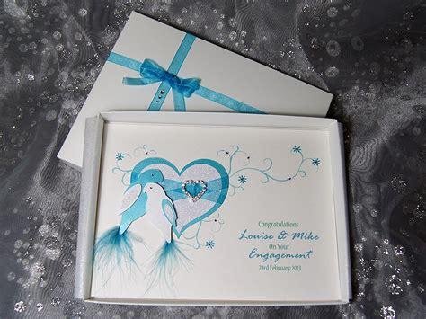 Duet Luxury Handmade Engagement Card