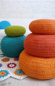 1001 tutos cool pour fabriquer un pouf originale With tapis champ de fleurs avec canape a la mode 2017