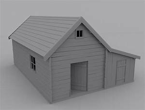 old house 3D Model .max - CGTrader.com