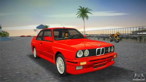 1987 Bmw E30 by Bmw M3 E30 1987 For Gta Vice City