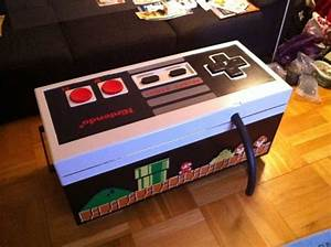 DIY NES Coffee Table Can Also Be Used To Play Randommization