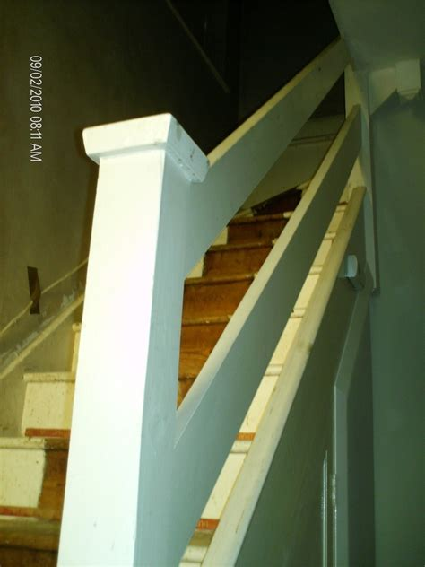 supply fit stair spindle handrail  ball carpentry