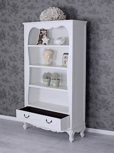 Regal Shabby Chic : antik regal weiss b cherregal shabby chic schrank b cherschrank ebay ~ One.caynefoto.club Haus und Dekorationen