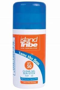 Spf 50 Clear Gel Stick Sunscreen From Island Tribe