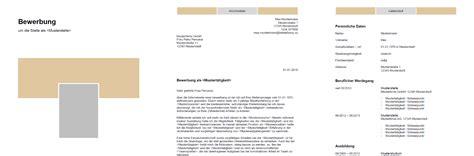 Bewerbung Formatvorlage by Bewerbung Muster Vorlagen Kostenlos Herunterladen