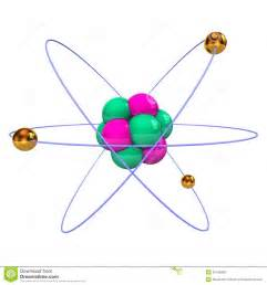 Atom with Protons Neutrons and Electrons