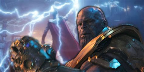 Avengers Infinity War  Thanos & Thor Have Most Screen Time