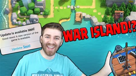 Clash Of Clans Boat Island by New Clan Wars Boat War Island Clash Royale New