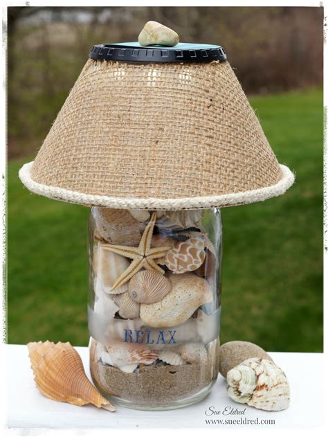 seashell lamp fun family crafts