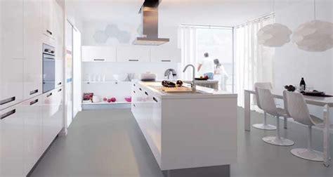 decorer cuisine toute blanche la cuisine blanche confirme style de d 233 co tendance
