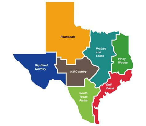 7 Most Beautiful Regions Of Texas With Map Touropia