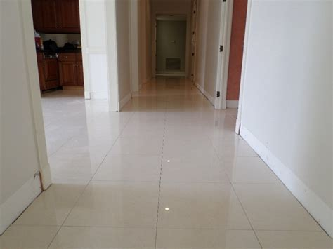 kitchen and hallway flooring polished porcelain 24 quot x24 quot tile with a 1 8 quot grout line 5002
