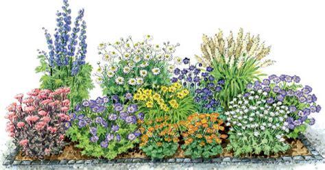 Zum Nachpflanzen: Ein Blühendes Beet Aus