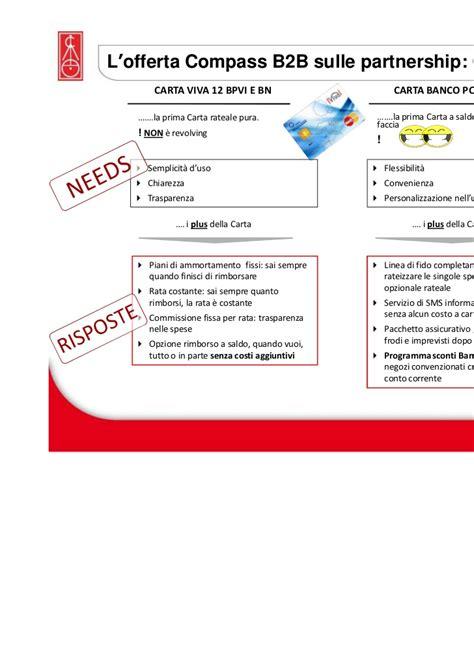 compass il modello delle partnership sul credito al