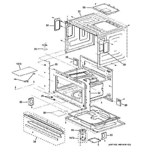 ge advantium parts diagram wiring