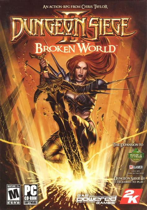 dungeon siege 2 broken dungeon siege ii broken for windows 2006 mobygames