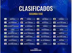 Sorteo de la segunda fase de la Copa Sudamericana 2018