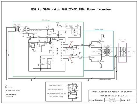 Inverter Circuit Electronics