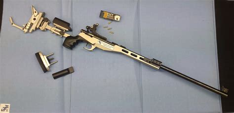 "HPS ""Convertible"" Fullbore & Smallbore Aluminium Rifle"