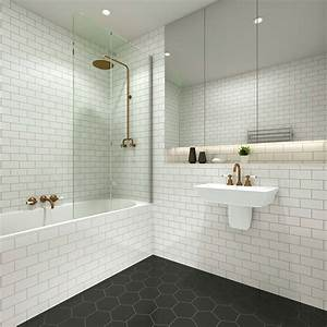 Showering, A, Small, Bathroom, In, Style